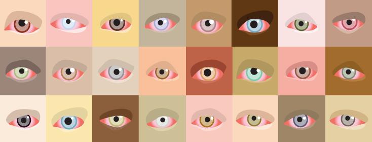Psoriasis facial redness eyes
