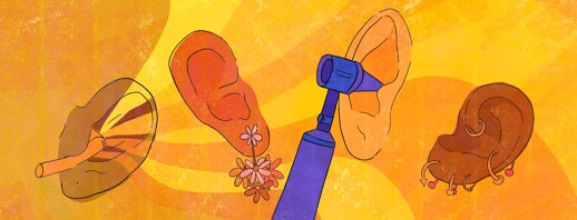 Psoriasis In The Ears image